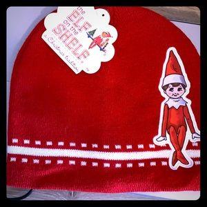 Boy Elf on the shelf winter hat new